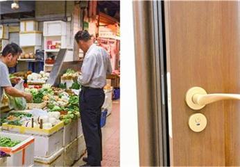 離婚5年,偶遇前夫超市買菜,男子邀女子去看兒子,推開門呆住